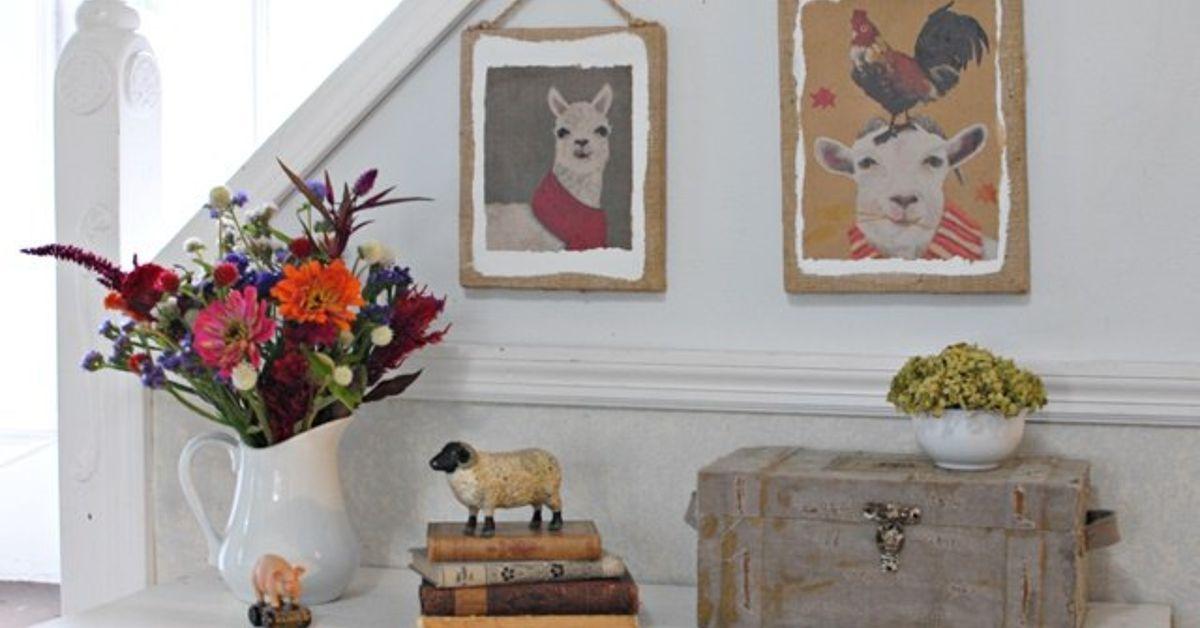 Paper Bag Wall Decor : Paper bag wall art hometalk