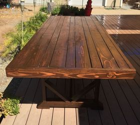 Diy Large Outdoor Dining Table Seats 10 12, Diy, Outdoor Furniture, Outdoor  Living Part 73