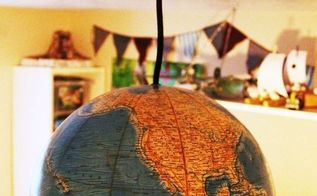 diy globe pendant light, diy, electrical, lighting, repurposing upcycling