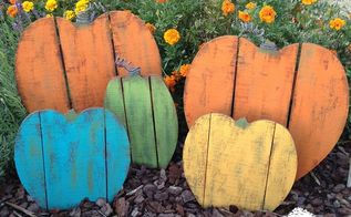 rustic wood pallet pumpkin patch, crafts, halloween decorations, pallet, seasonal holiday decor, thanksgiving decorations