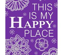 relieve stress and find your happy place, crafts
