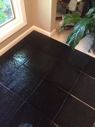 How to clean black grout hometalk for How to make grout white again