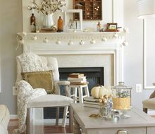 fall home tour, home decor, seasonal holiday decor