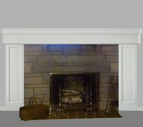 Need update ideas for Bedford stone fireplace | Hometalk