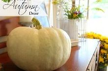 touch of autumn decor decorating made simple, home decor, seasonal holiday decor