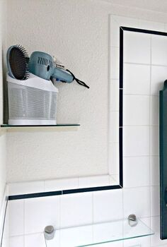 how i doubled my bathroom storage for less than 100, bathroom ideas, organizing, storage ideas