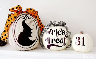 sharpie art pumpkins, crafts, halloween decorations, seasonal holiday decor