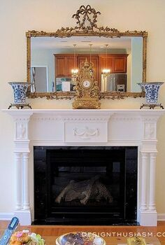 transform a room with a new fireplace mantel, fireplaces mantels, home decor, home improvement, living room ideas