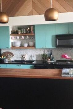 modern vintage kitchen makeover, home improvement, kitchen design