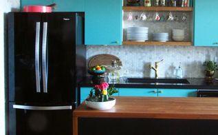 modern vintage kitchen makeover, home improvement, kitchen design