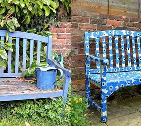 Easy To Make A Marimekko Bench Using Paper Napkins Hometalk. Best 25 Outdoor  Furniture ...