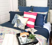cheerful bedroom makeover, bedroom ideas, home decor