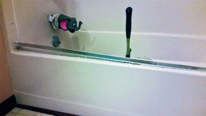 DIY! Remove Your Shower Door | Hometalk
