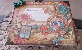 upcycle a cigar box into a keepsake, craft rooms, decoupage, repurposing upcycling