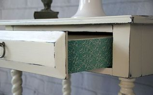 adding detail to furniture with washi tape, crafts, decoupage, painted furniture, repurposing upcycling
