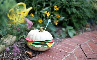 diy hamburger pumpkin tutorial, crafts, how to, seasonal holiday decor