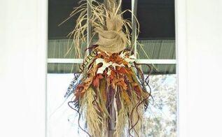 nature inspired fall wreath, crafts, seasonal holiday decor, wreaths