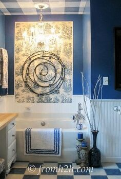 how to beautify a boring builder grade bathroom, bathroom ideas, home decor, how to, painting