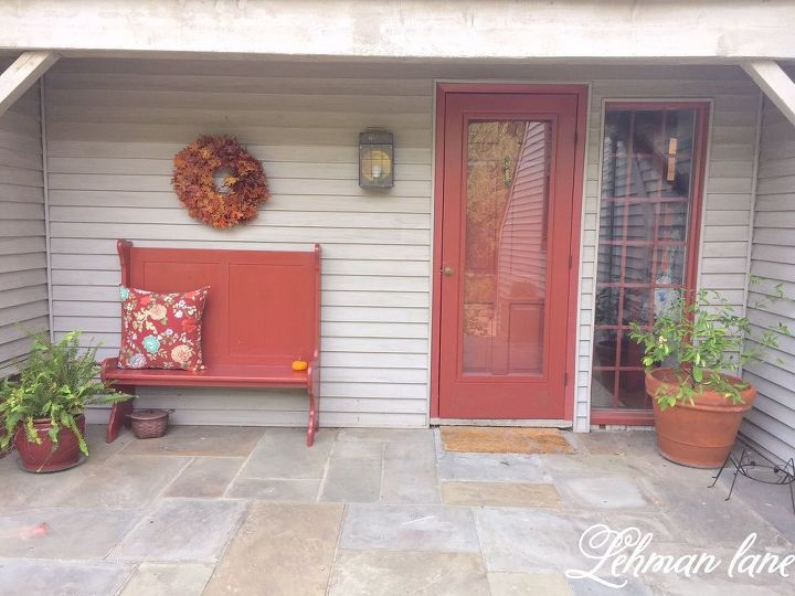 Foyer Seating Year : Our new entryway bench hometalk