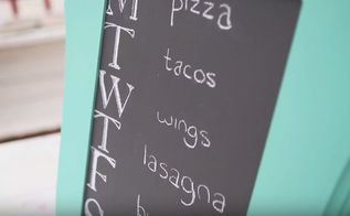 how to make a chalkboard with chalk based paint, chalkboard paint, crafts, how to