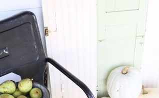 fall on the farm, outdoor living, porches, seasonal holiday decor