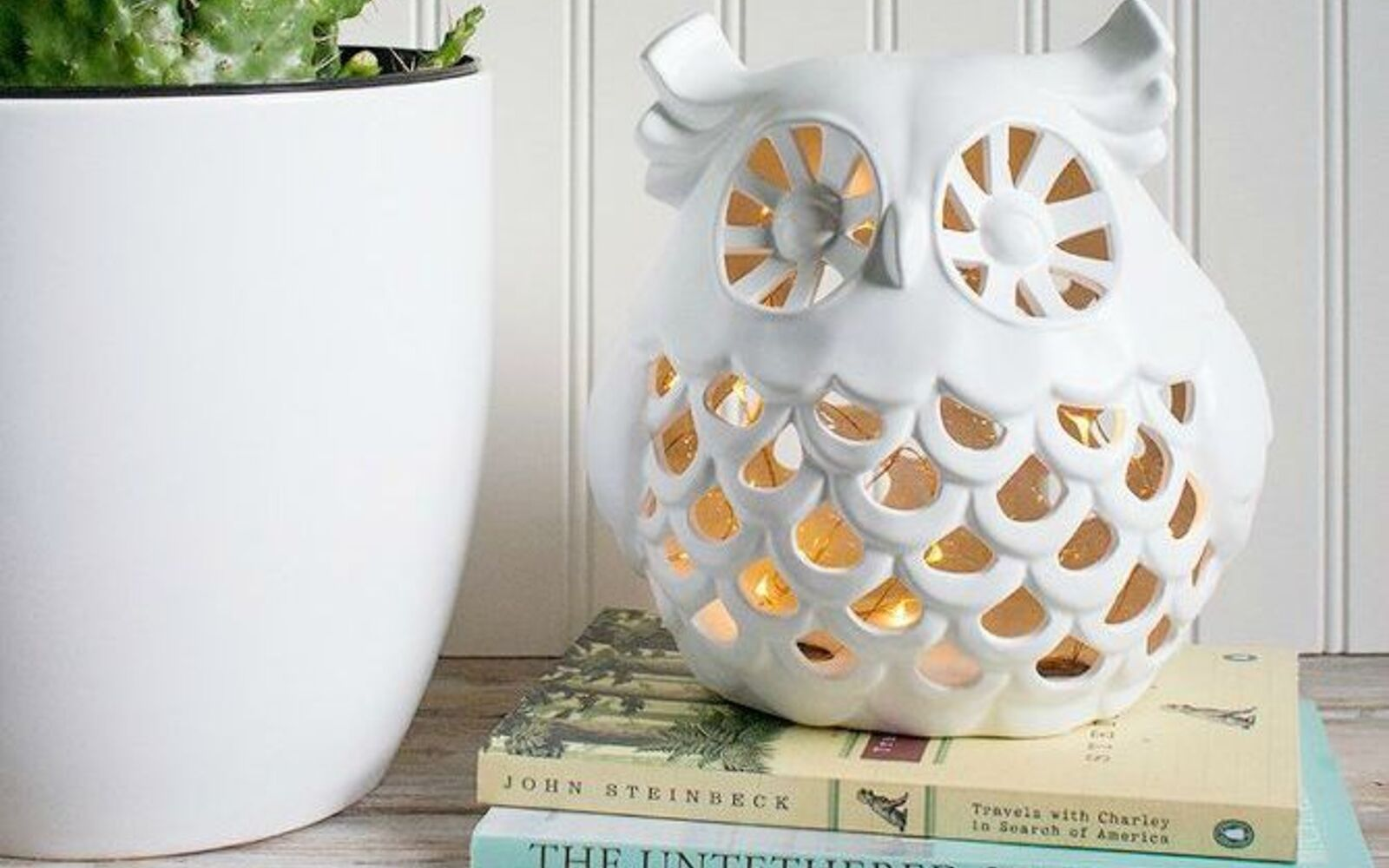 s 11 designer decor looks you can make on the cheap, crafts, home decor, Owl Night Light Land of Nod