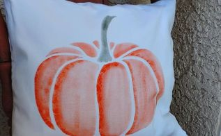 create fall inspired accent pillows, crafts, halloween decorations, seasonal holiday decor