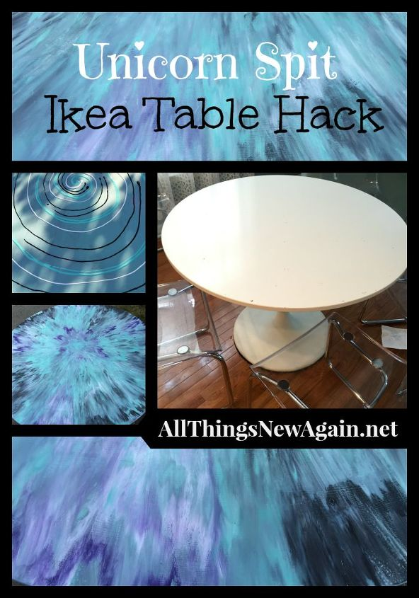 Unicorn Spit Ikea Table Hack Hometalk