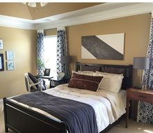 master bedroom makeover, bedroom ideas, home decor, wall decor
