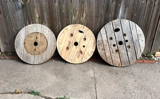 q spool top ideas, crafts, repurposing upcycling