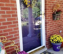 fall front door makeover, curb appeal, doors, seasonal holiday decor