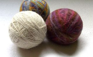 diy felted dryer balls part 2, cleaning tips, crafts, how to