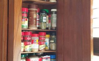 who doesn t need extra space for all your spices, kitchen cabinets, kitchen design, organizing, shelving ideas