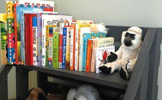 diy toy storage bookshelf, diy, repurposing upcycling, shelving ideas, storage ideas