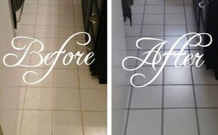 how to recolor grout without re grouting, bathroom ideas, cleaning tips, tiling