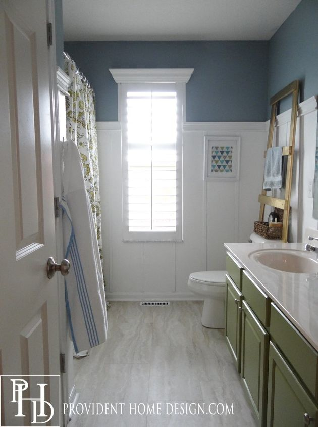 Marble Guest Bathroom Ideas : Kids guest bathroom makeover on a budget hometalk