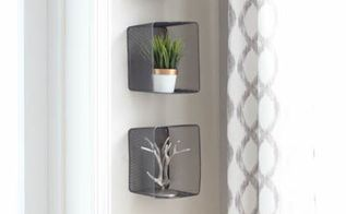 recycled wall decor using target dollar spot bins, home decor, repurposing upcycling, storage ideas, wall decor