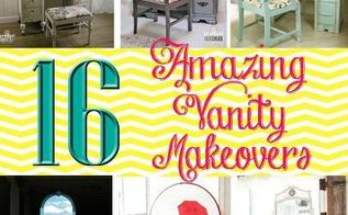 16 amazing vanity makeovers, painted furniture