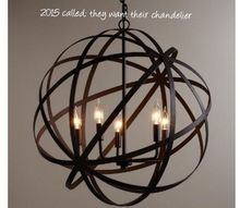 q are orbs played out, home decor, lighting, 2015 called they want their chandelier back