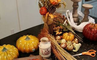 coastal casual fall tablescape on a budget, crafts, seasonal holiday decor