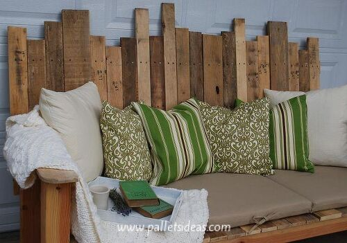 I am looking for the schematics for the attached pallet couch ...