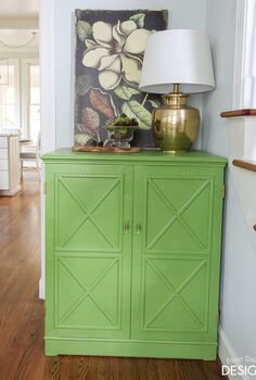 a geometric transformation simplified cabinet, painted furniture, woodworking projects