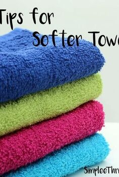 5 tips for softer towels, cleaning tips
