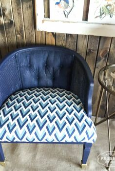 don t upholster paint fffc geometric design, painted furniture