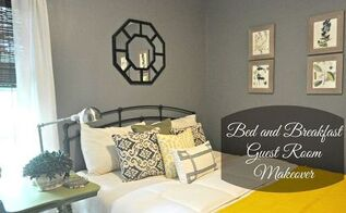 bed and breakfast style guest room makeover, bedroom ideas, home decor