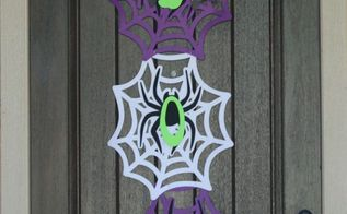 easy halloween door decoration, crafts, doors, halloween decorations, seasonal holiday decor