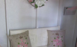 crafting cottage pillows, craft rooms, crafts, outdoor living, shabby chic