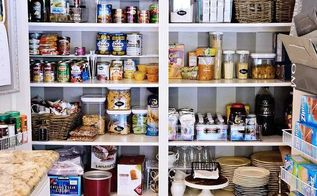 pantry makeover before and after with my new favorite product, closet, kitchen design, organizing, storage ideas, AFTER