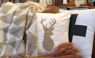 diy fall pillows with my way applique, crafts, seasonal holiday decor, reupholster