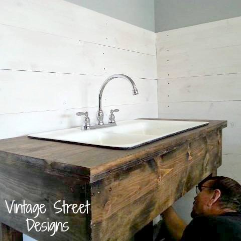 How To Make A Rustic Sink Base Bathroom Ideas Diy How To